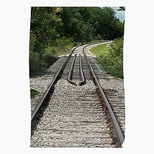 Amazon.com: Eystone Railroad Tie Railway Track Plant Metal