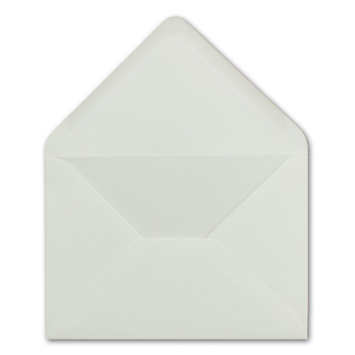 200x 200x 200x Brief-Umschläge in Dunkel-Grün - 80 g m² - KuGrüns in DIN B6 Format 125 x 175 mm - Nassklebung ohne Fenster - Qualitätsmarke FarbenFroh® B07BK7S439 | Exquisite Verarbeitung  865078