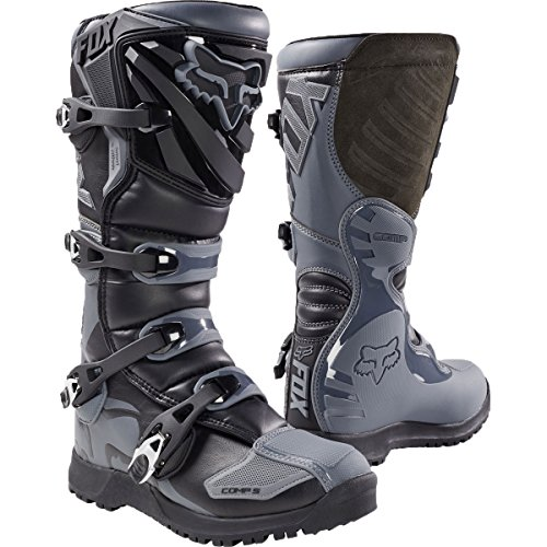 - Fox Racing 2018 COMP 5 OFFROAD BOOT (Black/Grey, 12 D(M) US)