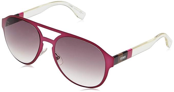 Fendi FF 0082/S J8 E3X 55, Gafas de sol para Mujer, Rosa ...