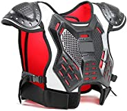 WINGOFFLY Kids Chest Protector Body Armor Vest Protective Gear for Dirt Bike Snowboarding Motocross Skiing
