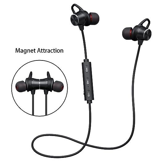 19 opinioni per Auricolari Bluetooth Magnetico Stereo Hi-Fi,Cuffie Wireless Bluetooth V4.1