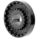 Lovejoy 36088 Size 6J S-Flex Coupling Flange, Cast Iron, Inch, 1.375'' Bore, 4'' OD, 1.31'' Hub Length, 450 in-lbs Nominal Torque, 0.313'' x 0.156'' Keyway