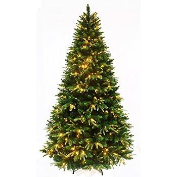 Amazon.com: Kurt Adler Pre-Lit Point Pine Tree, 7-Feet: Home & Kitchen