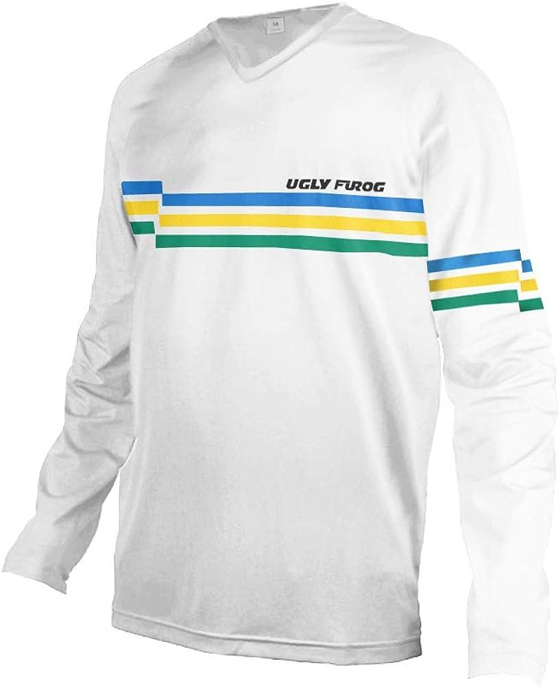 Uglyfrog MTB Downhill Mens Jersey Mountain Bike//Motocross Short//Long Sleeve Top