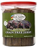 Triumph Dog Turkey, Pea, & Berry Grain Free Jerky, 24-Ounce [2-Pack]