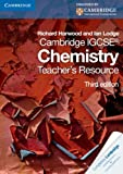 Cambridge IGCSE Chemistry Teacher's Resource CD-ROM, Richard Harwood and Ian Lodge, 0521183871