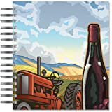 ECOeverywhere Vineyard Work Picture Photo Album, 18 Pages, Holds 72 Photos, 7.75 x 8.75 Inches, Multicolored (PA11799)