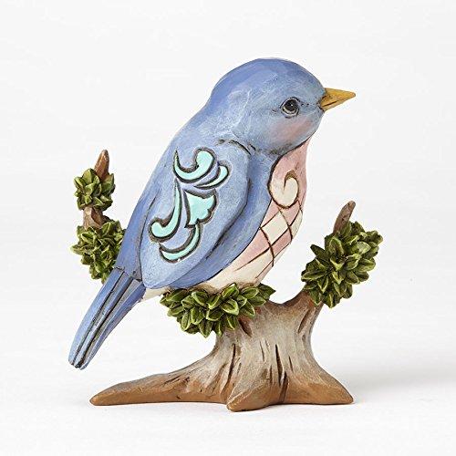 Enesco Jim Shore HWC Mini Bird On Branch Figurine