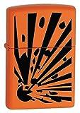 Zippo Lighter Orange Explosion Orange Matte 28142