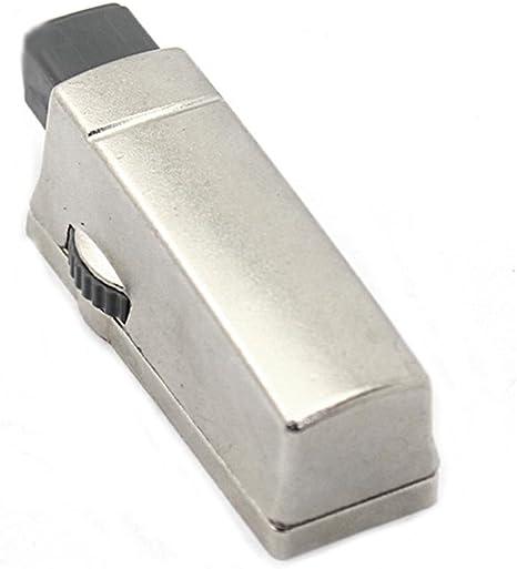 adelante y atr/ás Supertool amortiguadores de cierre silencioso blanco mosquet/ón puerta para cocina 15 unidades blanco y gris cierre suave caj/ón