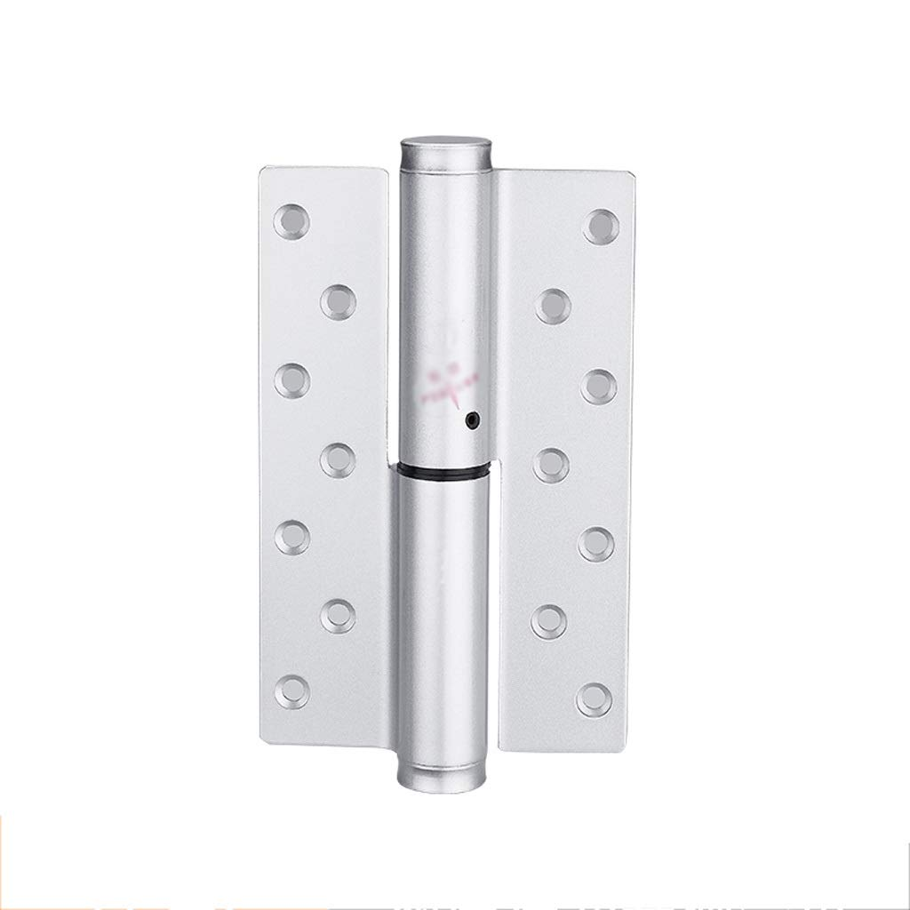 LEZDPP Concealed Door Hinge Automatic Closing Door Closer Hydraulic Buffer Damping Spring Hinged Blind Door Self-Closing Page (Color : E, Size : Left Open) by LEZDPP