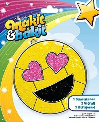 ColorBok 73705 Mibi Suncatcher Emoji Heart Eyes Suncatcher Kit