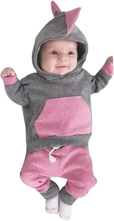 Ropa Bebe Otoño Invierno, Bebé recién Nacido niña Camiseta con ...