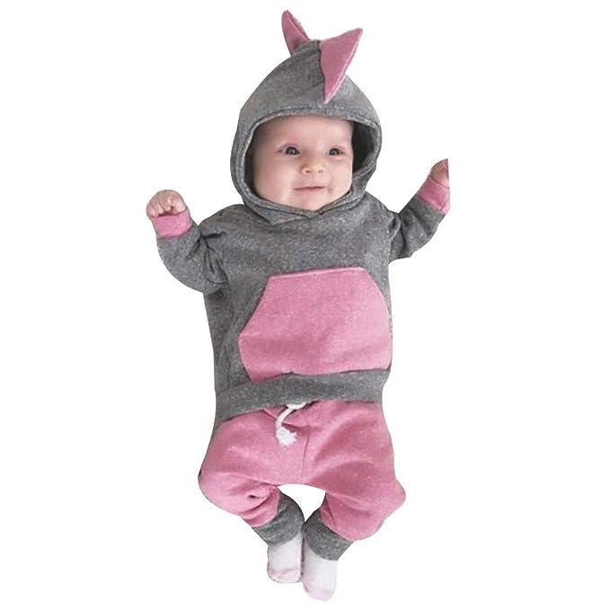 20f5a4395a8876 Kinlene Vestiti Bambino Maschio Dinosaur Neonata Appena Nata 3D Con  Cappuccio Tops T-Shirt Pantaloni