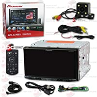 New Pioneer AVH-X490BS 7 2DIN Touchscreen Car DVD CD receiver Bluetooth & Pandora with DCO Back-up Camera Night Vision and 170 Degrees Wide Angle View