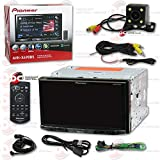 New Pioneer AVH-X490BS 7'' 2DIN Touchscreen Car DVD CD receiver Bluetooth & Pandora with DCO Back-up Camera Night Vision and 170 Degrees Wide Angle View