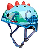 Micro Scooters Kids Cycling Safety Bike Scooter Helmet -3D Dino Design, Small
