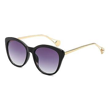 Z&HA Gafas De Sol para Mujer, Concha De Carey, Marco ...