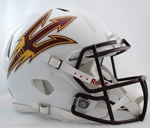 Riddell Sports NCAA Arizona State Sun Devils Speed Authentic Helmet, White