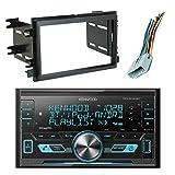 Kenwood DPX303MBT Digital Media Double-DIN Mechless Bluetooth USB AUX AM/FM Car Audio Receiver