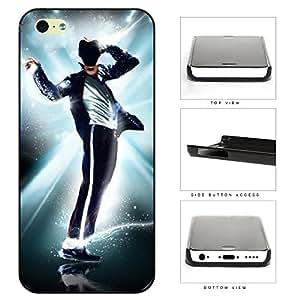 H&F Michael Jackson Singer Cool iPhone 5c Black Designer Shell Hard Case Cover Protector