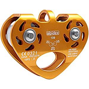 Seilrolle Power 2.0 Tandem Pulley orange onesize