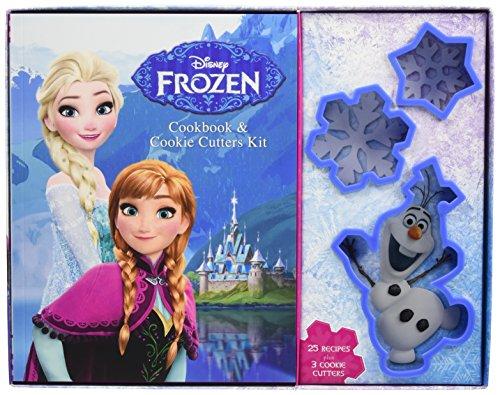 Frozen Cookbook & Cookie Cutters Kit (Elsa Cookie Cutter)