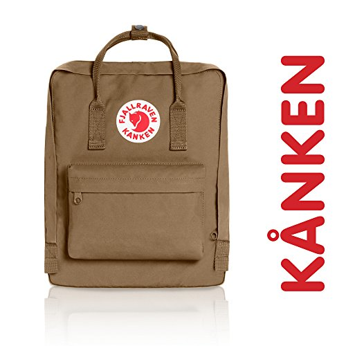 Fjallraven - Kanken Classic Pack, Heritage and Responsibility Since 1960,One Size,Sand