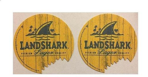 (Landshark Lager Set of 20 Beer Bar Pub Coasters Shark Bite)
