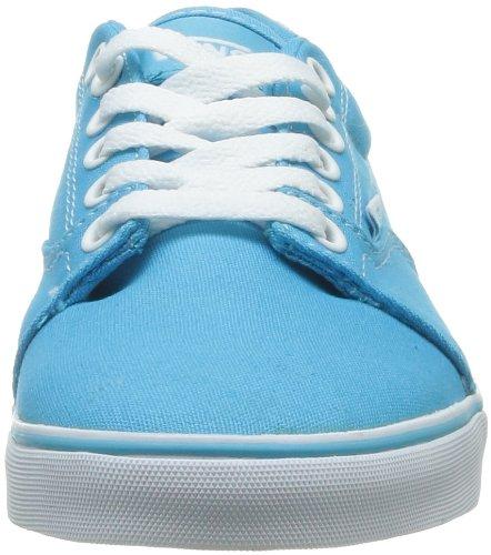 Vans W Kress, Women's Hi-Top Sneakers Turquoise (Canvas Blue A)