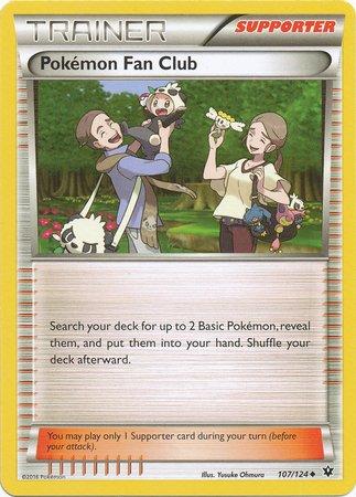 Pokemon - Pokemon Fan Club (107/124) - XY Fates Collide