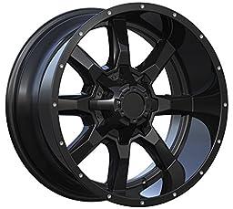 Series 479 Matte Black 8 Spoke Alloy Wheel 18x9 5-127 (5-5\