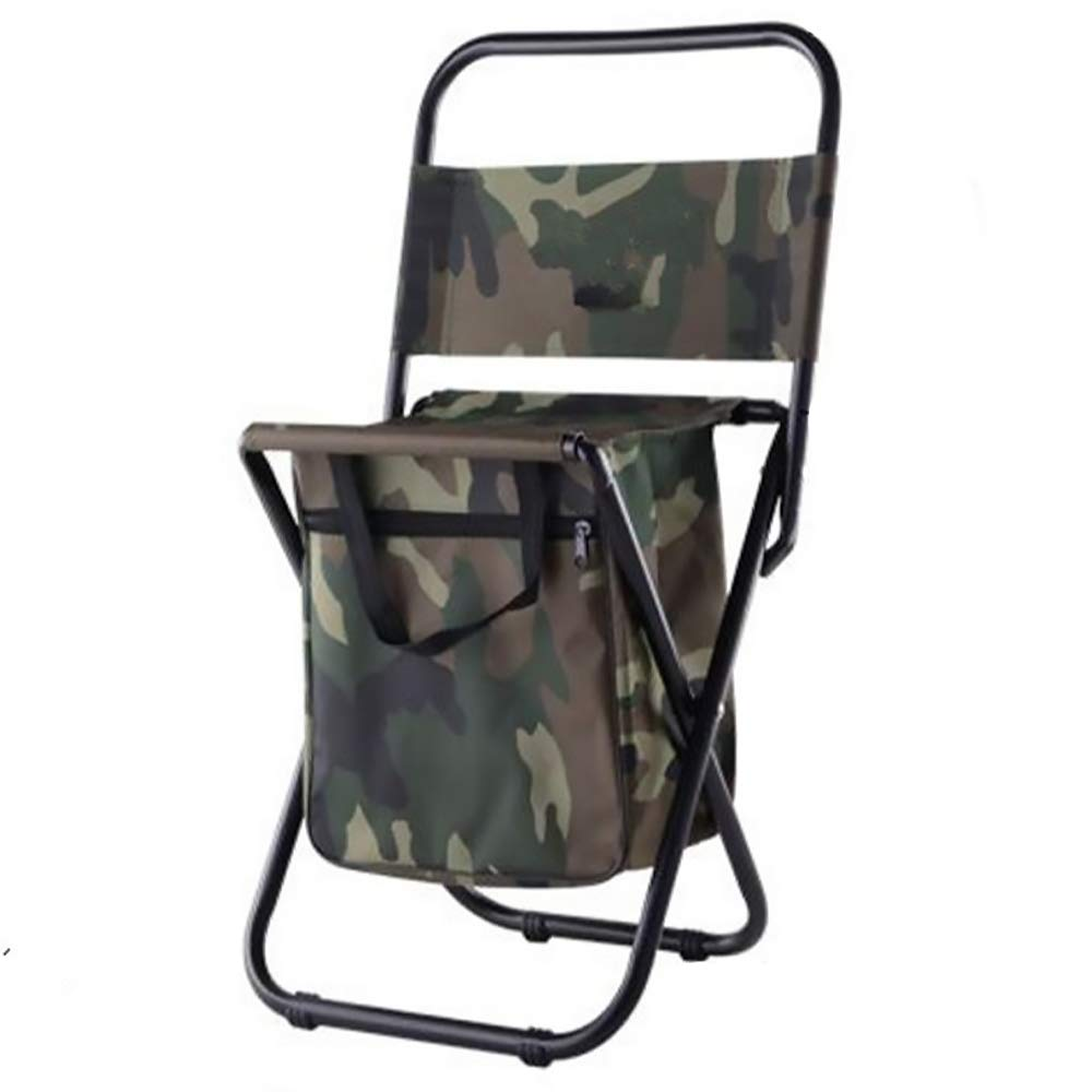 LBAFS Outdoor Freizeit Klappstuhl Mit Aufbewahrungstasche Portable Komfortable Wasserdicht Für Barbecue Angeln Camping,B