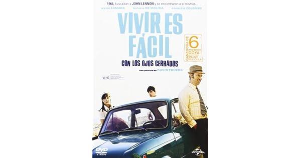 Amazon.com: Vivir Es Fácil Con Los Ojos Cerrados (Import Dvd ...