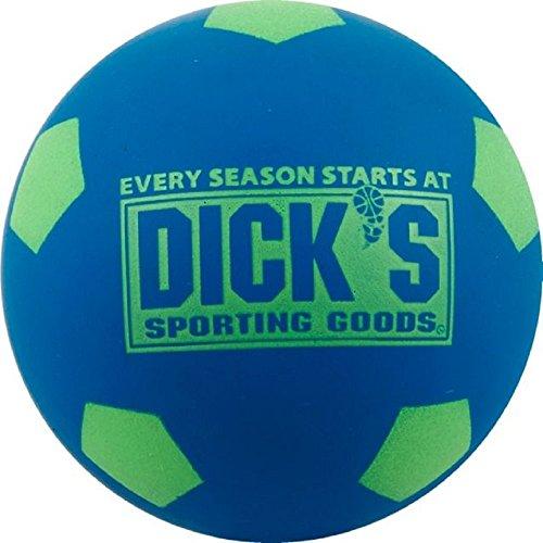 Sporting Goods All Star Soccer Bounce Ball 2 4  Diameter  Blue Green