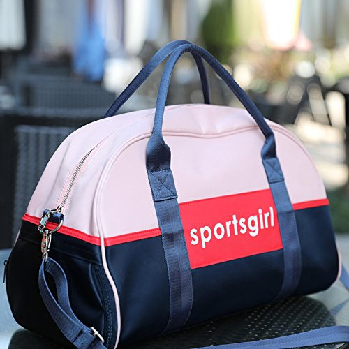 bf038a4cb36 Uniuooi Dry Wet Separated Swimming Bag Waterproof Sports Gym Duffel Bag  Handbag Travel Beach Bag Toiletry Clothes Organiser with Shoe Compartment  for Women ...