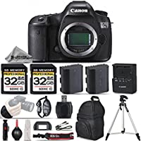 Canon EOS 5DS R DSLR Camera Body 50.6MP Full-Frame CMOS Sensor, Full HD 1080p + 2 Of 32GB Class 10 Memory Card + Extra Backup Battery. All Original Accessories Included - International Version
