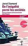 De l'inégalité parmi les sociétés : Essai sur l'homme et l'environnement dans l'histoire par Diamond