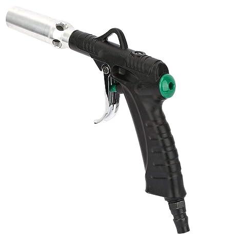 Druckluftpistolen Air Duster Blow Gun Aluminiumlegierung Handheld Portable Air Duster Blow Gun Pistole Typ Pneumatische Reinigungswerkzeug1 4 Großer Windzylinder Gewerbe Industrie Wissenschaft