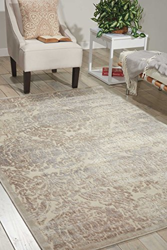 - Nourison Graphic Illusions  Ivory Rectangle Area Rug, 7-Feet 9-Inches by 10-Feet 10-Inches (7'9