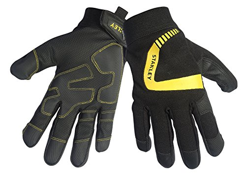 Stanley S77824 Cold Weather Performance Gripper: Digital Polyurethane Palm with a Thinsulate Lining, X-Large