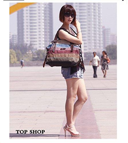 Canvas FTSUCQ Hobo Totes Womens Handbags Satchels Shoulder Bags rrwx5fg7