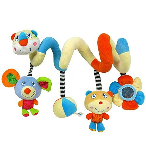 AQURE Activity Spiral Stroller Toy