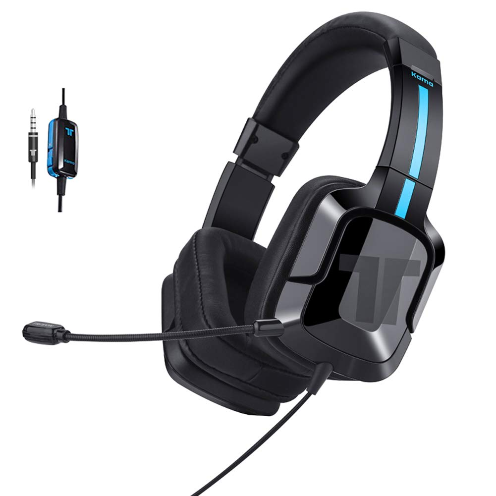 TRITTON Kama Plus Stereo Gaming Headset for PC, PS4, Xbox One, Noise Cancelling Gaming Headphone for Mac, Laptop, Nintendo Switch by TRITTON