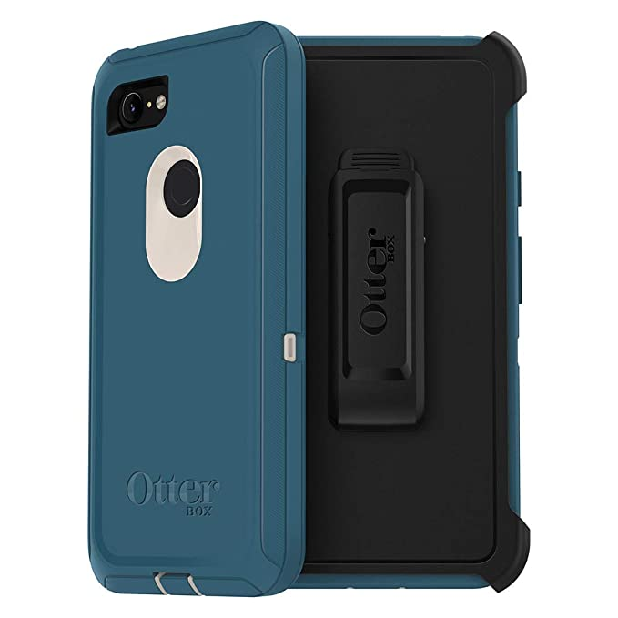 new arrival 3af0f a86e2 OtterBox Defender Series SCREENLESS Edition Case for Google Pixel 3 XL -  Retail Packaging - Big SUR (Pale Beige/Corsair)