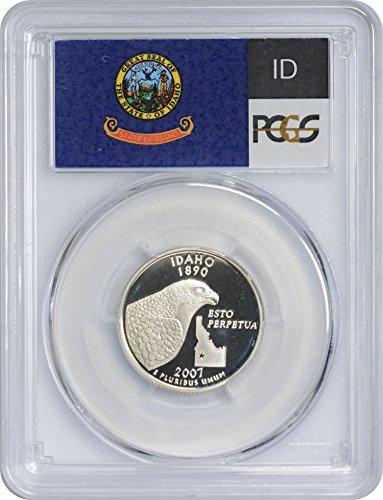 2007 S Idaho State Silver Quarter PR70DCAM PCGS