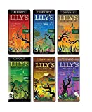 LILY'S Chocolate – Super Variety – 1 Of Each Flavor Creamy Milk, Almond, Coconut, Salted Almond Milk, Original, Crispy Rice – 3 Oz.