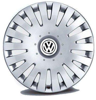 Original Volkswagen Piezas VW Juego De Tapacubos 16 Pulgadas (Passat 3C, Scirocco, Eos