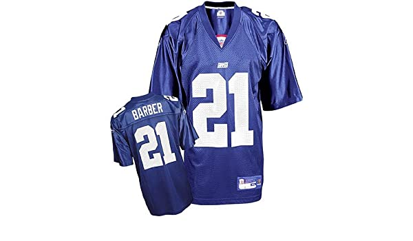 5e695c900 Amazon.com   Tiki Barber  21 New York Giants Youth NFL Replica Player  Jersey by Reebok (Royal Blue)   Sports Uniforms   Sports   Outdoors